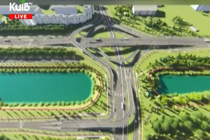 Проект развязки на Керченской площади