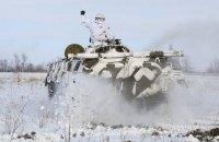 ЗСУ на Донбасі відпрацювали заняття вогневих рубежів і відбиття атаки ворога