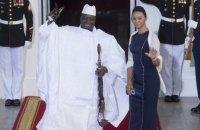 Екс-президент Гамбії погодився піти у відставку