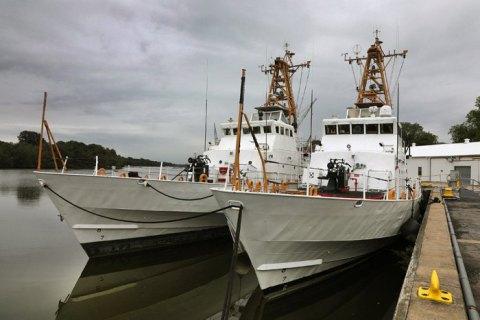 """Украинские катера Island получили имена """"Славянск"""" и """"Старобельск"""""""