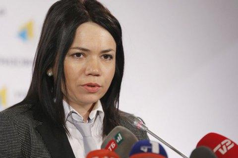 Сюмар заявила, що її побили і не пустили на засідання ДВК у Борщагівській ОТГ під Києвом