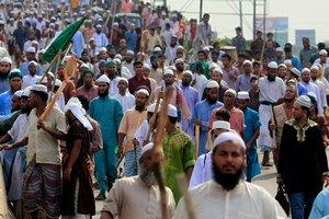 Тысячи исламистов протестуют в Бангладеш против поправок в конституцию
