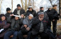 Количество голодающих в Киеве чернобыльцев возросло до 21