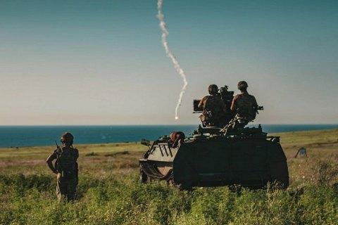 Гвардійський підрозділ протиповітряної оборони провів навчання під Маріуполем