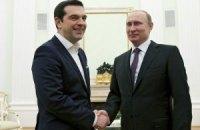 Греция выступила против антироссийских санкций