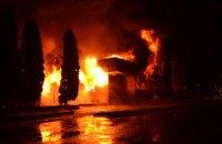 """У Рівному вночі сталася велика пожежа в ресторані """"Істанбул"""""""