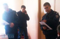 Милиция задержала посторонних людей в серверной окружкома 217 на Оболони (документ)