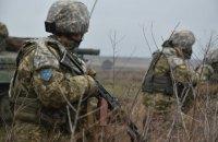 Враг обстрелял украинские позиции у Песков, Луганского и Водяного