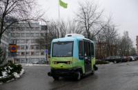В Стокгольме запускают беспилотные пассажирские автобусы