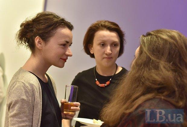 Слева направо: Марина Степанская, Дарья Бадьер и Катерина Липа