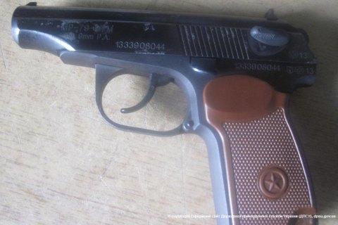 Прикордонники вилучили у громадянина РФ пістолет і боєприпаси в Сумській області