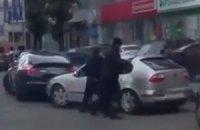 В центре Киева произошла перестрелка
