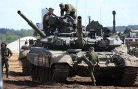 Украинская армия под Иловайском уничтожила колонну российских танков