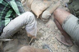 Количество погибших от землетрясения в Непале превысило 4 тыс. человек