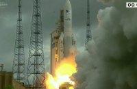 Ракета-носій Ariane-5 вивела на орбіту два супутники зв'язку
