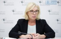 Переговори про звільнення ув'язнених ведуться в мінському і нормандському форматах, - Денісова