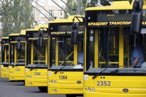Через обвал Шулявського моста в Києві зміниться маршрут п'яти тролейбусів
