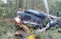 На Трухановом острове в центре Киева разбился вертолет (обновлено)