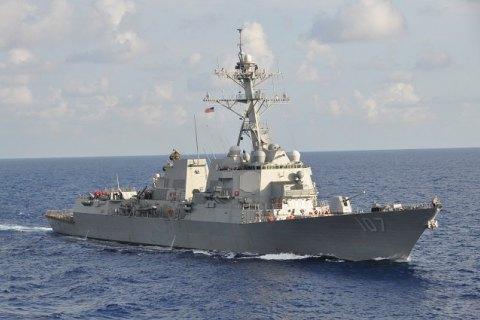 """Эсминец ВМС США с крылатыми ракетами """"Томагавк"""" вошел в Балтийское море"""