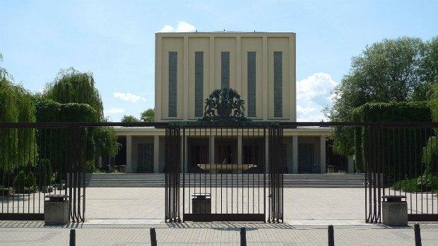 Кладбище и крематориум Strašnice в Праге