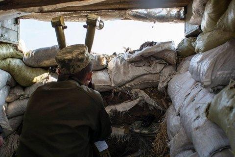 В Донецкой области в ходе обстрела ранен военнослужащий ВСУ