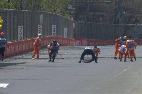 У Формулі-1 скасували практику Гран-Прі Азербайджану через каналізаційні люки