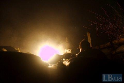 Бойовики понад 60 разів обстріляли військових у четвер