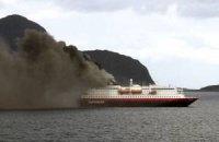 В Германии произошло возгорание на прогулочном судне