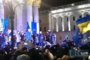 Тимошенко призвала граждан Украины выйти на майданы против Януковича