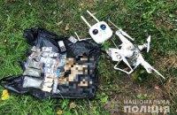 Поліція затримала чоловіка, який намагався квадрокоптером доставити наркотики в Лук'янівське СІЗО