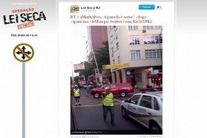 Бразилия потребовала закрыть микроблоги для пьяных водителей