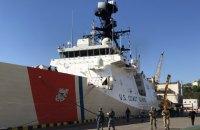 """Американський фрегат берегової охорони """"Гамільтон"""" зайшов у порт Одеси (оновлено)"""