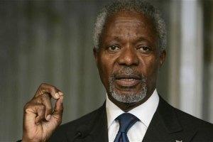 Кофі Аннан залишає посаду спецпосланця ООН і ЛАД у Сирії