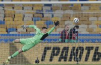 Трубин побил рекорд Шовковского в матчах за сборную Украины