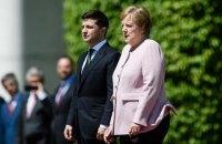 Меркель стало погано під час зустрічі із Зеленським