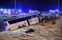 В Польше умер мужчина, пострадавший в аварии украинского автобуса