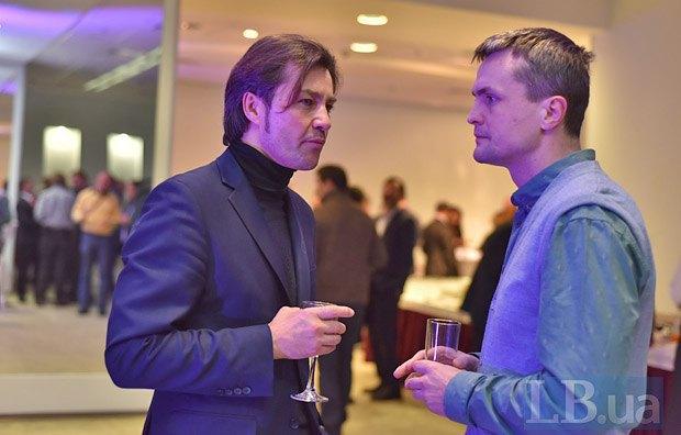 Евгений Нищук и Игорь Луценко (справа)
