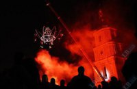 """""""Французька весна"""" відкриється світловим перформансом на фасаді """"Софії Київської"""""""