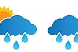 В Украине ожидается теплая погода с дождями