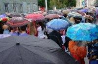 У четвер у Києві короткочасний дощ, місцями грози