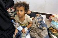 Число людей с подозрением на холеру в Йемене достигло миллиона