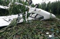 В Сумской области разбился легкомоторный самолет