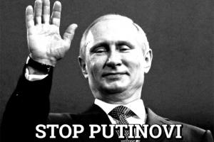 Чехи протестуют против визита Путина в Прагу
