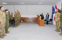 Украинские саперы получили сертификаты НАТО