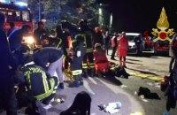 Шесть человек погибли в результате давки в итальянском ночном клубе