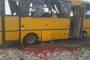 Россия обвинила силы АТО в обстреле автобуса у Волновахи