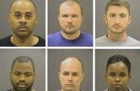 Присяжные решили судить 6 полицейских по обвинению в убийстве чернокожего жителя Балтимора