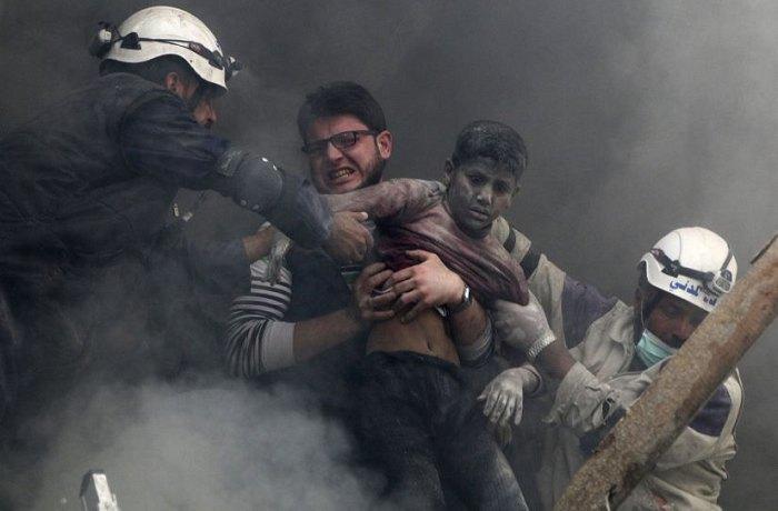 """Кадр з фільму """"Останні люди в Алеппо"""""""