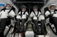 SpaceX відправила до МКС корабель з чотирма астронавтами