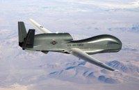 Тяжелый беспилотник ВВС США провел разведку у линии разграничения на Донбассе